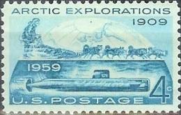 1959 4 Cents Arctic Exploration, Mint Never Hinged - Ongebruikt