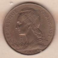 ILE DE LA REUNION. 20 FRANCS 1962 - Reunión