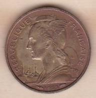 ILE DE LA REUNION. 10 FRANCS 1955 - Reunión