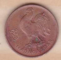 MADAGASCAR. FRANCE LIBRE. 50 Centimes 1943. BRONZE - Madagascar