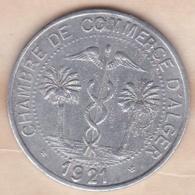 Algérie, Chambre De Commerce D'Alger ,10 Centimes 1921 , Aluminium - Algérie