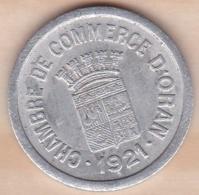 Algérie , Chambre De Commerce D'Oran , 10 Centimes 1921 , Aluminium - Algérie