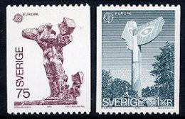 SWEDEN 1974 Europa: Sculptures MNH / **.  Michel 852-53 - Sweden