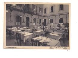 M8284 Emilia Romagna SALSOMAGGIORE PARMA ALBERGO POSTA 1935 VIAGGIATA - Italië