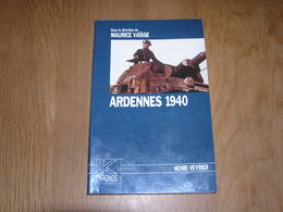 ARDENNES 1940 Guerre 40 45 Ardennes Françaises Belgique Fortifications Invasion Semoy Spahis Monthermé Sedan Meuse Exode - Oorlog 1939-45