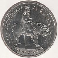 MONNAIE DE ¨PARIS 29 QUIMPER - Cathédrale De Quimper - Le Roi Gradlon Blanche -  2015 - Monnaie De Paris