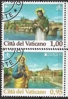2018 Vatikan  Mi  Used Europa: Brücken - 2018