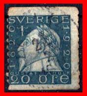 SUECIA .. SVERIGE (EUROPA )  SELLO AÑO 1920 KING GUSTAF II ADOLF - Suecia