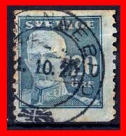 SUECIA .. SVERIGE (EUROPA )  SELLO AÑO 1920 KING GUSTAF V - Suecia