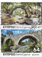 2018 Zypern Mi. Bookler Set   Used   Europa Brücken . - 2018