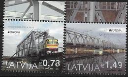 2018 Lettland Latvija Used    Europa: Brücken - 2018
