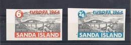 1964 - SANDA ISLAND - EUROPA - IMPERFORATED. MNH - Europa-CEPT