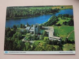 HOTELLI AULANKO - HÄMEENLINNA FINLAND( Kuultokuva ) Anno 1975 ( See Photo ) ! - Finlande