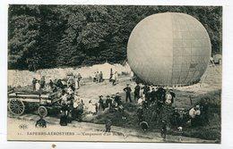 CPA  78 : VERSAILLES  Sapeurs Aérostiers Campement D'un Ballon  A   VOIR !!!! - Versailles