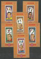 MANAMA - MNH - Sport - Soccer - Olympic Games - Imperf. - Deluxe - Football