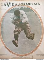 1905 RUGBY - CHAMPIONNAT DE FRANCE MARSEILLE CONTRE LYON ET FRANCE IRLANDE - Livres, BD, Revues