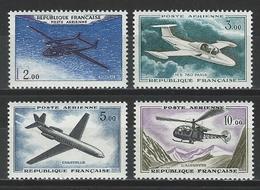 Frankreich Yv 38-41,  Mi 1279-82   *  MH - 1960-.... Ungebraucht