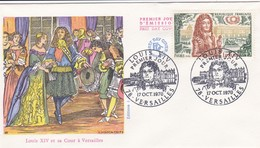 FRANCE 1970 FDC LOUIS XIV YT 1656 - 1970-1979