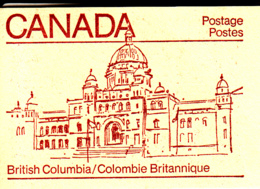 Canada 1983 Booklet BK84a Sc #946b Pane Of 4 Maple Leaf With 2 Labels - Carnets Complets