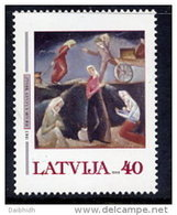 LATVIA 2002  Art: Kazaks Painting  MNH / **.  Michel 567 - Latvia