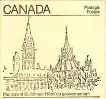 Canada 1982 Booklet BK83 Sc #923a Pane Of 20 30c Maple Leaf With 1 Label - Carnets Complets