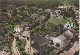 CPSM Ars-sur-Moselle - En Avion Au-dessus De ... Ars-sur-Moselle - Le Temple - Ars Sur Moselle