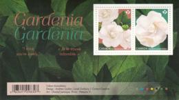 Canada 2019 MNH Souvenir Sheet Of 2 Gardenias - 1952-.... Règne D'Elizabeth II