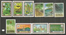Conservation Des Richesses Naturelles Aux îles SAMOA, 10 Timbres Neufs ** Côte 18,00 € - Samoa