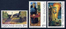 FAROE ISLANDS 1995 Nordic Arists  MNH / **.  Michel 280-82 - Faroe Islands