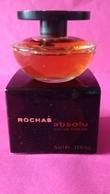 ABSOLUE  De ROCHAS  - Eau De Parfum  5 Ml  Miniature - Miniatures Modernes (à Partir De 1961)
