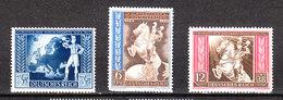 Germania Reich - 1942. Postino Su Globo, Postino A Cavallo. Postman On The Globe, Riding Postman. Complete MNH, Fresh - Orologeria