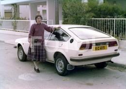 1973 ORIGINAL AMATEUR PHOTO FOTO ALFA ROMEO ALFASUD SPRINT CAR VOITURE UK - Automobiles