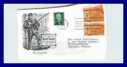 USA - ETATS UNIS - FDC - Enveloppes 1er Jour  *  Daniel Boone - 1961-1970