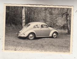 VW Coccinelle - Kever - 1958 - Photo Format 7 X 10 Cm - Cars