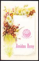 BELLE CHROMO AMIDON REMY  LOUVAIN  FLEURS - Chocolat