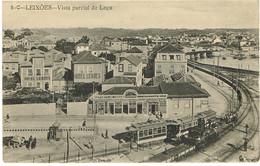 - PORTUGAL-POSTCARDS-PORTO- 5-C-LEIXÕES-- VISTA PARCIAL DE LEÇA .. A. F. -PORTO - Porto