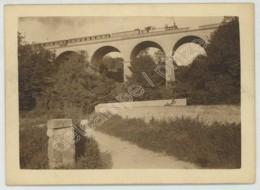 Viaduc De Méry (Val-d'Oise). Passage D'un Train . - Orte