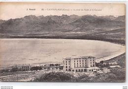 CALVI PLAGE - Le Fond Du Golfe Et Le Corsotel - J. Moretti - Très Bon état - Calvi