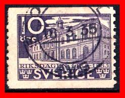 SUECIA .. SVERIGE (EUROPA )  SELLO AÑO 1935 THE 500 ANNIVERSARY OF THE PARLIAMENT - Suecia
