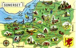 MAPS - COLOURMASTER - PT6127 - SOMERSET - Maps