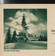 Carte Illustrée Neuve N° 193 - 027  DAVOS Winterzauber  (Zumstein 2009) - Entiers Postaux