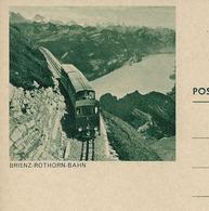 Carte Illustrée Neuve N° 193 - 019  BRIENZ-ROTHORN-BAHN (chemins De Fer - Railways )  (Zumstein 2009) - Entiers Postaux
