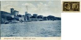 STORIA POSTALE  Propaganda  Due Popoli Una Guerra 10 C. Cartolina Di Antignano Livorno - 1900-44 Vittorio Emanuele III