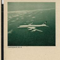 Carte Illustrée Neuve N° 193 - 0110  SWISSAIR DC-8    (avion- Air Plane) (Zumstein 2009) - Entiers Postaux