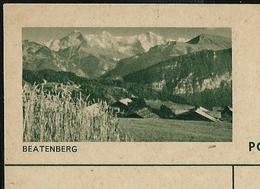 Carte Illustrée Neuve N° 182 - 047  BEATENBERG (Zumstein 2009) - Entiers Postaux