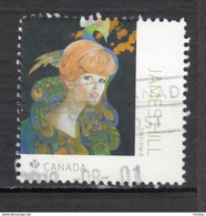 ##29, Canada, TIMBRE DE FEUILLET, STAMP FROM SOUVENIR SHEET, Paon, Peacock - 1952-.... Règne D'Elizabeth II
