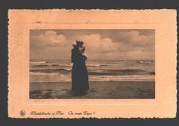 Middelkerke - Middelkerke S/Mer - Où Reste Papa - Gewafeld - 1935 - Middelkerke