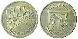 00341 GETTONE TOKEN JETON PARCHEGGIO PARKING FN Einkaufen Spass Haben. Hafler Munze - Allemagne