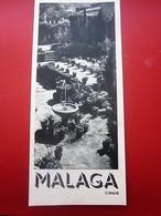 ESPAGNE- 1950 MALAGA ESPAÑA VISUALIZACIÓN GUÍA TURÍSTICA Desplazarse Por Las Imágenes ... Ver - Folletos Turísticos
