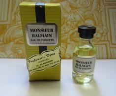 Miniatures Monsieur Balmain Eau De Toilette - Miniatures De Parfum
